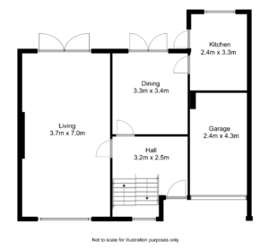 estate agents floor plan shankill
