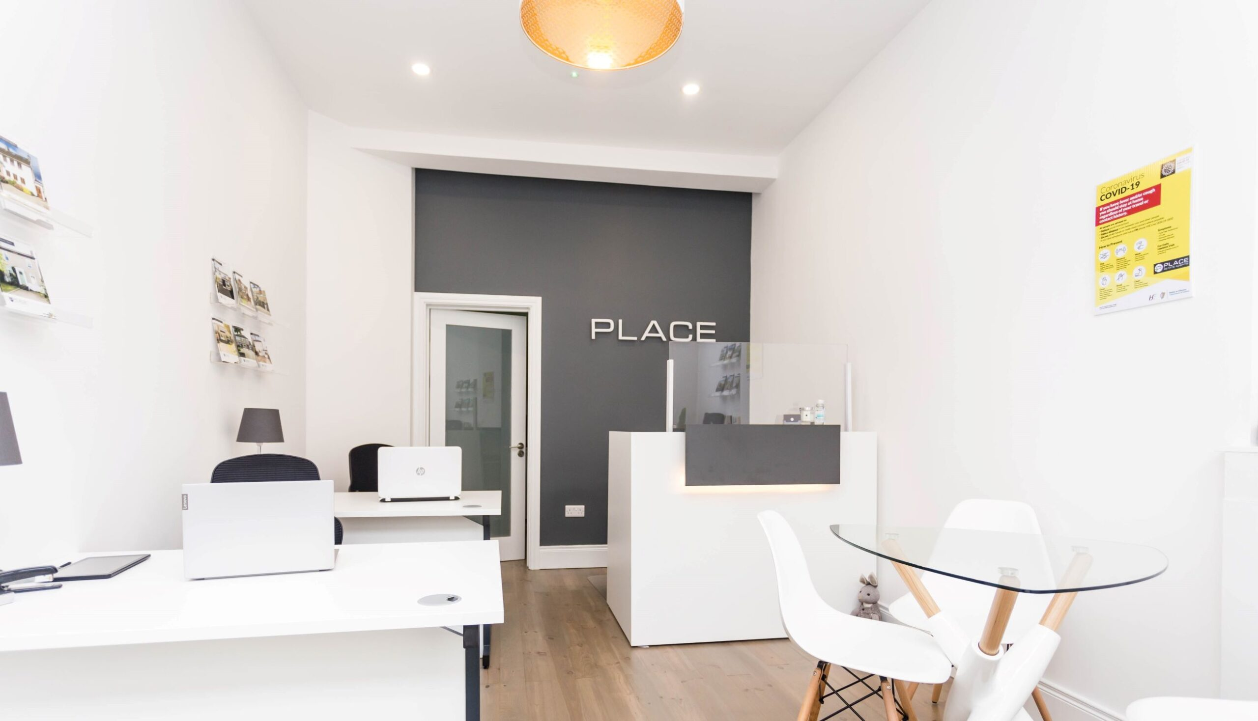 Place estate agents office